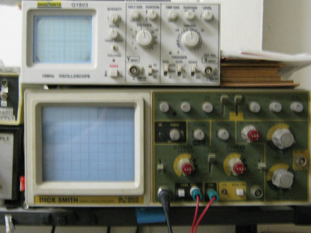 My Oscilloscopes