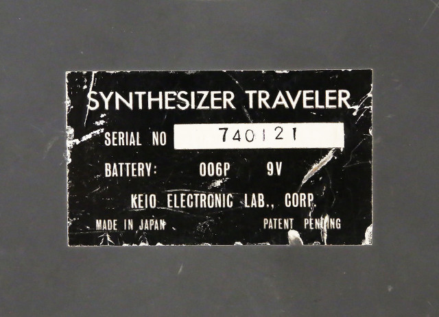 Keio - Synthesizer Traveler