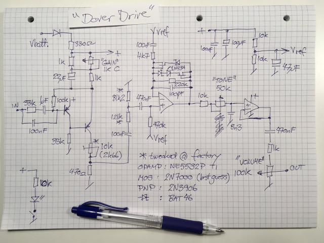 Dover Drive Schematic Traced